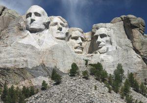 In Mount Rushmore virtual tours